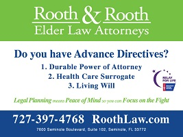 Rooth & Rooth Elder Law Attorneys and Relay for Life: Do you have advance directives